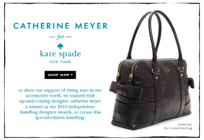 catherine meyer handbag Kate Spade Oct 2011