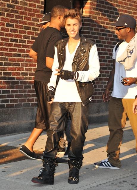 Justin Bieber Wearing Moschino June 2012 Fashion Blog