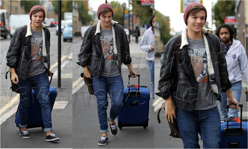 Louis Tomlinson From One Direction In Junk Food Fashion Blog From The Fashion Blogger