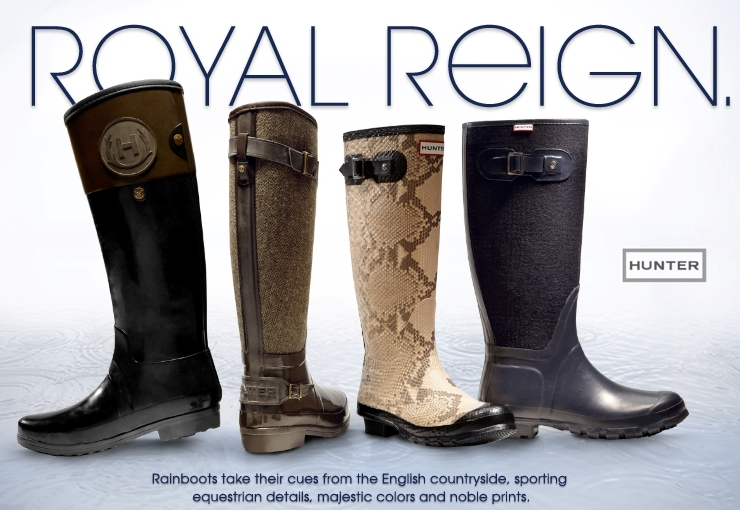 Hunter Rainboots From the English Countryside | Fashion Blog from