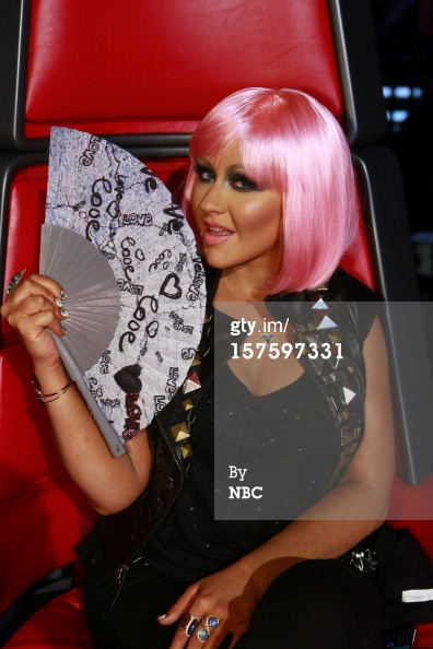 Christina Aguilera Earnest Sewn The Voice 2012