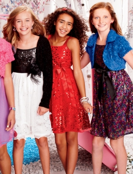 Shop Justice Girls Holiday Dress Tips 2012