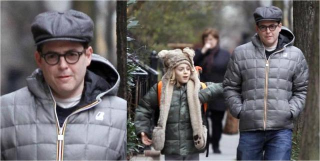 Matthew Broderick K-way Jacket January 2013