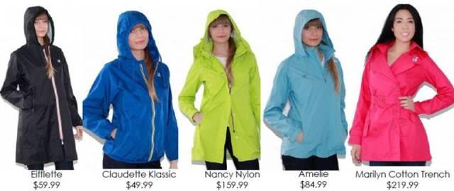 K-way rainwear 2013