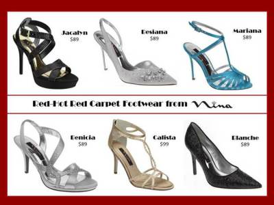 red carpet footwear 2013