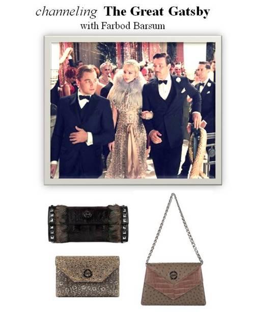 Gatsby Farbod Barsum bags