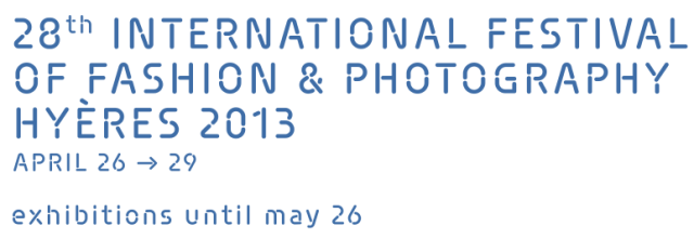 International Festival Fashion Photography Hyeres 2013