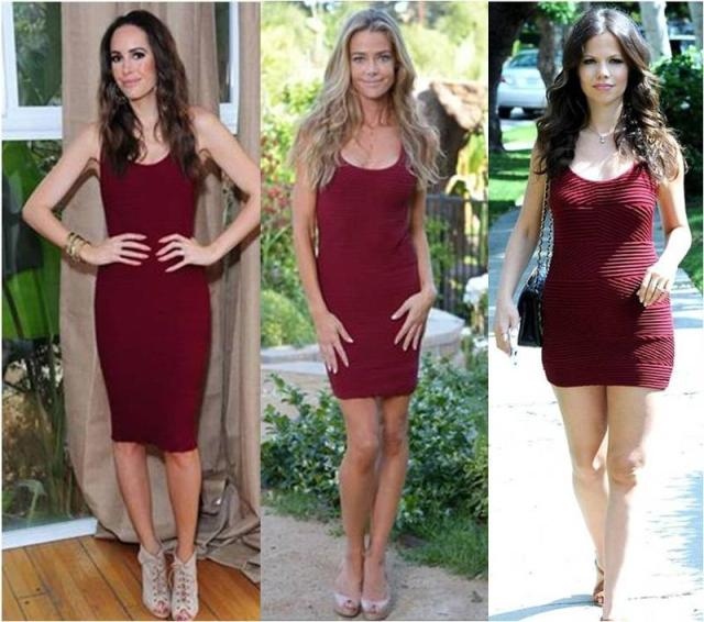Louise Roe, Denise Richards and Tammin Sursok