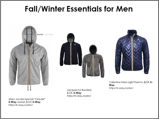 k-way mens jackets 2013