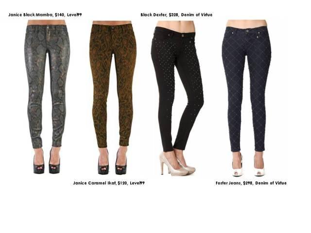 spirit of Halloween pants trend 2013