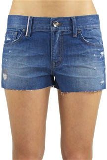 ashley greene denim shorts october 2013