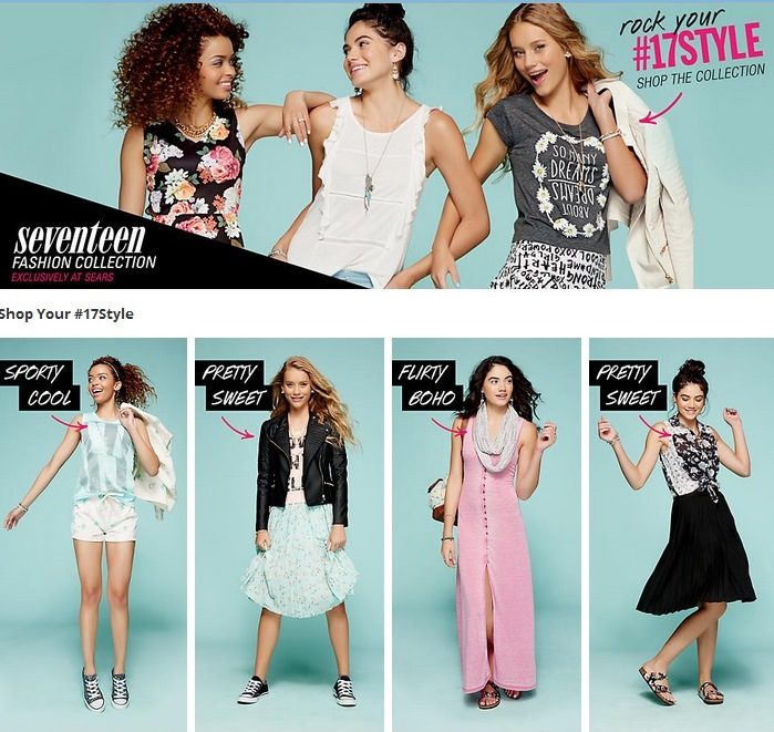 272846279e Seventeen Magazine Fashion Collection at Sears | Fashion Blog from ...