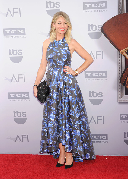HOLLYWOOD, CA - JUNE 04: Actress Rebecca Gayheart  arrives at the American Film Institute's 43rd Life Achievement Award Gala Tribute To Steve Martin at Dolby Theatre on June 4, 2015 in Hollywood, California.(Photo by Jeffrey Mayer/WireImage)