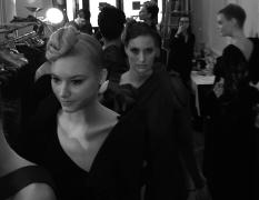 Backstage Patuna couture show _ Hôtel du Louvre _ PFW33